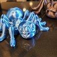 Download STL file Cute Flexi Print-in-Place Spider • 3D printer template, rbruckner