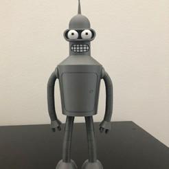 IMG_4089.jpg Télécharger fichier STL gratuit Maquette de Bender futurama • Design pour impression 3D, garciaruben750