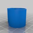 Télécharger fichier STL gratuit Porte-pinceau pour bouteille de peinture avec fixation par super-colle et colle en tube • Design imprimable en 3D, Mrdwgraf