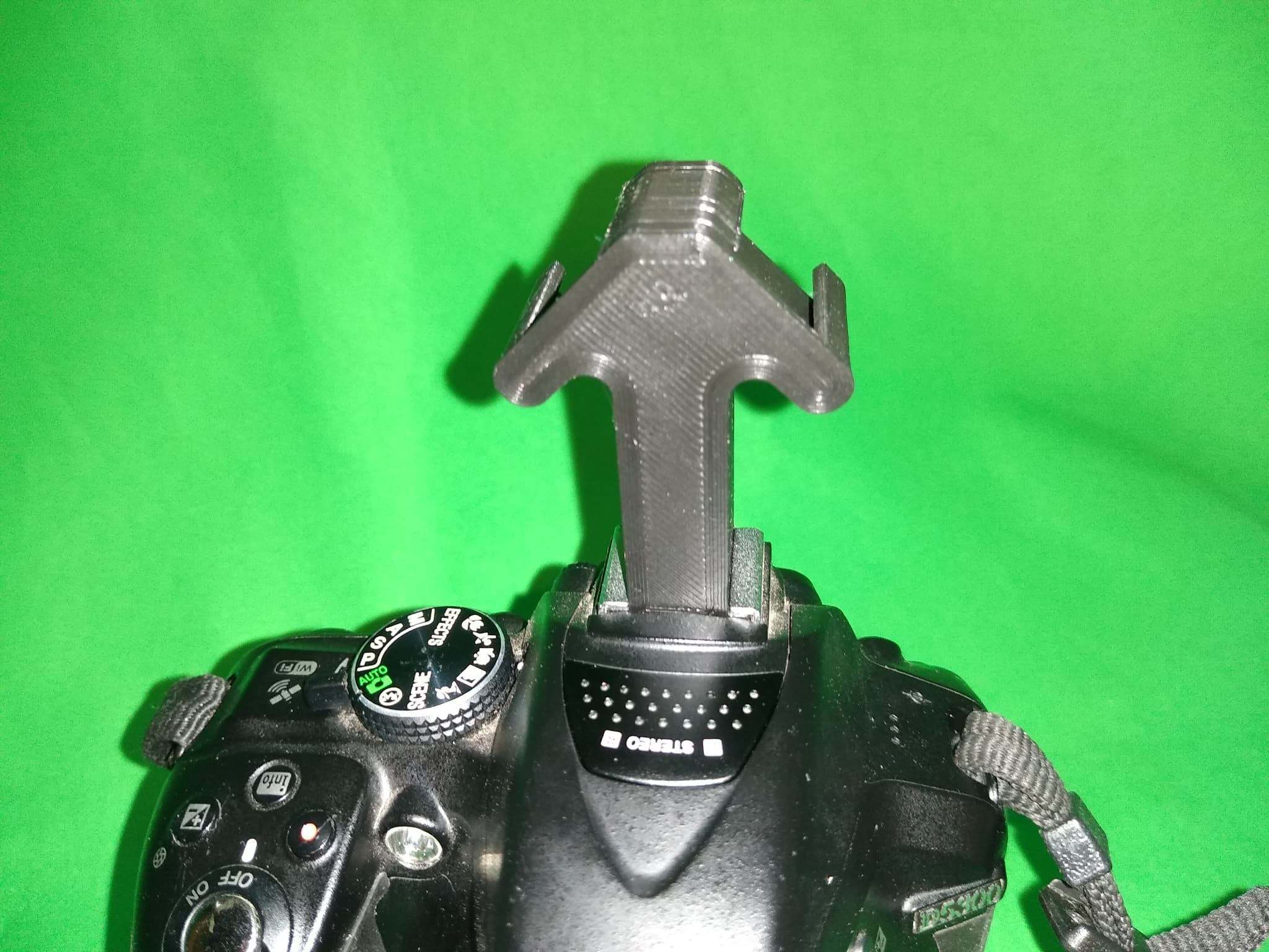 93773510_2763845640409290_6373756116081311744_n.jpg Télécharger fichier STL gratuit Adaptateur de rallonge double Hotshoe, idéal pour les micros Rode et les appareils photo DSLR Lumière pour la vidéo Nikon, Canon etc. • Plan à imprimer en 3D, Mrdwgraf