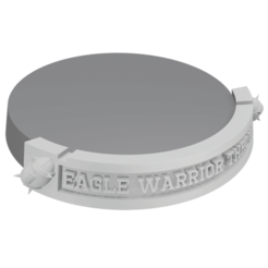 eagle warrior thrower.png Download STL file Bloodbowl 2016 amazons nameplates • 3D printer object, Wargname