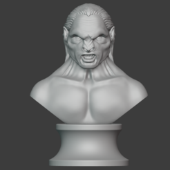 Lurtz 11.PNG Download STL file The Uruk-Hai Lurtz from Lord of the rings movie for 3D printing in STL • 3D printable template, Macronaute