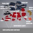 Descargar STL Juguete funcional de 4 barriles de Pepperbox Derringer Cap Gun, Puhsketti