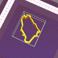 خريطة السعوديه..png Download STL file Saudi Arabia map cookie cutter  • 3D printable template, 3dlove2020