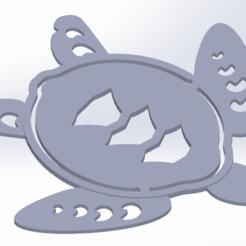 Télécharger objet 3D gratuit Tortue de mer Marqueur de livre, aguiarconnor