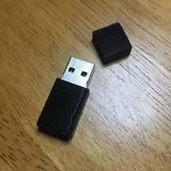 IMG_0832.jpg Download free STL file Flash Drive Case • Model to 3D print, disizitstudios