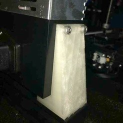Download free 3D printer templates Ender 3 PSU support 17mm REMIX, disizitstudios