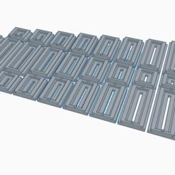 Impresiones 3D gratis Placas QR Arca Swiss, disizitstudios
