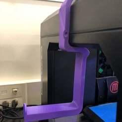 IMG_0123.JPG Télécharger fichier STL gratuit MakerBot Replicator 5e génération et Replicator+ Spool Holder / Adaptateur [REMIX] • Plan pour imprimante 3D, disizitstudios