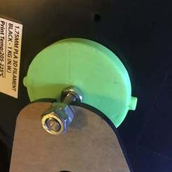 IMG_08302.jpg Download free STL file Anet A8 Spool Holder for Inland Filament • 3D printing object, disizitstudios