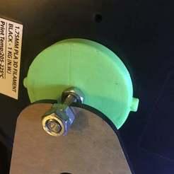 Descargar modelos 3D gratis Portabobinas Anet A8 para filamento interior, disizitstudios