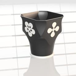 para photoshop.jpg Descargar archivo STL Vase flowerpot FDO • Plan imprimible en 3D, cifrerenzo