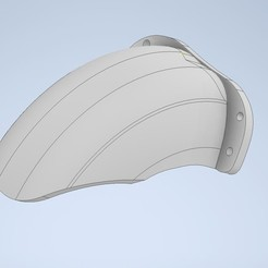 Capture.JPG Download STL file Short rear mudguard for Dualtron Ultra • Object to 3D print, ODC