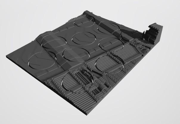 10 32s.jpg Download STL file 40K INDUSTRIAL BASES (Full Set!)  TABLEWAR MAGNETIC TRAY INSERT WITH BASES • 3D printer design, Z-Axis_Hobbies