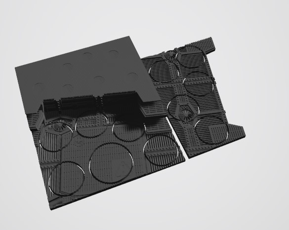 Annotation 2020-08-23 221537.jpg Download STL file 40K INDUSTRIAL BASES (Full Set!)  TABLEWAR MAGNETIC TRAY INSERT WITH BASES • 3D printer design, Z-Axis_Hobbies