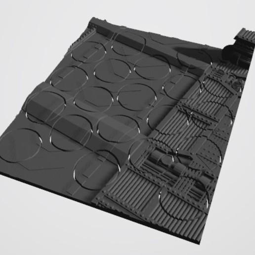 20 25s.jpg Download STL file 40K INDUSTRIAL BASES (Full Set!)  TABLEWAR MAGNETIC TRAY INSERT WITH BASES • 3D printer design, Z-Axis_Hobbies