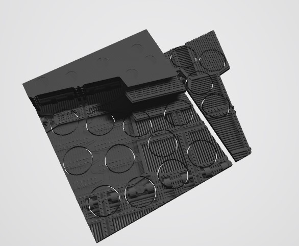 Annotation 2020-08-22 224215.jpg Download STL file 40K INDUSTRIAL BASES (Full Set!)  TABLEWAR MAGNETIC TRAY INSERT WITH BASES • 3D printer design, Z-Axis_Hobbies