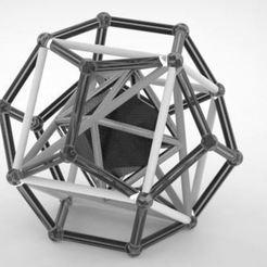 1.JPG Download STL file sacred geometry 1 • 3D print object, geometric