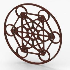 Captura2.JPG Download STL file sacred geometry 5 • Object to 3D print, geometric