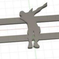 fornite_fusion.JPG Download free STL file FORNITE EARRINGS • 3D print template, especarem