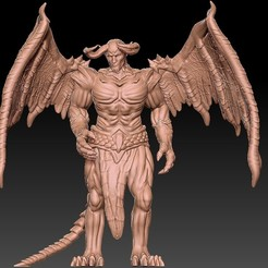 1.jpg Download free STL file Demon • Object to 3D print, madehomecosplay