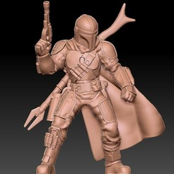 Download free 3D print files Mandalorian, madehomecosplay