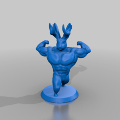 Descargar diseños 3D gratis Gravity Falls Six-packalope, dreadshawn