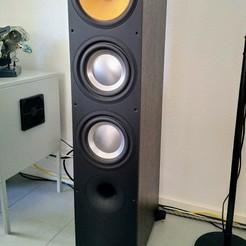IMG_20200531_161835.jpg Download STL file 3D printed Bowers Wilkins 683 speaker base • 3D printer template, acszolie
