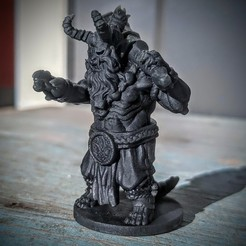 Oni_Print.jpg Download free STL file Oni • Template to 3D print, MotleyMiniatures