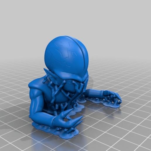 0ac6d4459fd90fee79758b9362a6b5c9.png Télécharger fichier STL gratuit Saibamen DragonBall • Design imprimable en 3D, EugenioFructuoso
