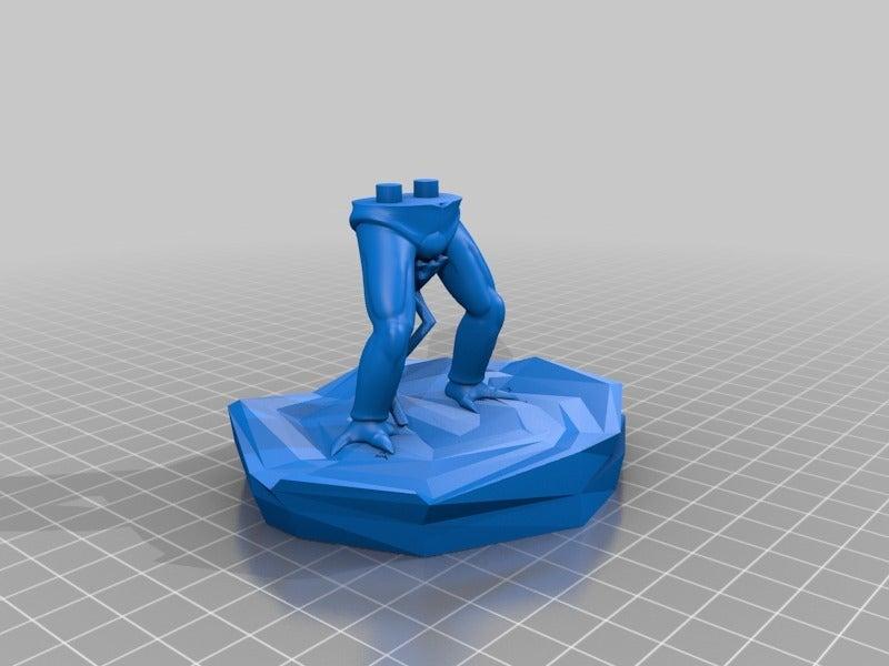 409d06450eded35f33250e007d472c5c.png Télécharger fichier STL gratuit Saibamen DragonBall • Design imprimable en 3D, EugenioFructuoso