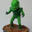 Télécharger fichier STL gratuit Saibamen DragonBall • Design imprimable en 3D, EugenioFructuoso