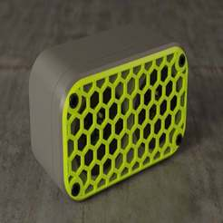 Download free 3D printing files Mini Bluetooth Speaker, EugenioFructuoso