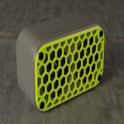 Télécharger fichier STL gratuit Mini haut-parleur Bluetooth • Objet pour imprimante 3D, EugenioFructuoso