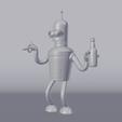 RENDERVIEW.png Télécharger fichier STL gratuit Bender Futurama • Design pour imprimante 3D, EugenioFructuoso