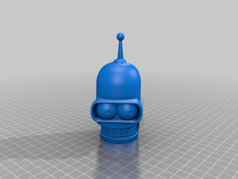 db3d11c34b1a9e3d55822da4149fb4c9.png Télécharger fichier STL gratuit Bender Futurama • Design pour imprimante 3D, EugenioFructuoso