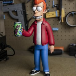 Download STL file FRY from Futurama • 3D printable object, EugenioFructuoso
