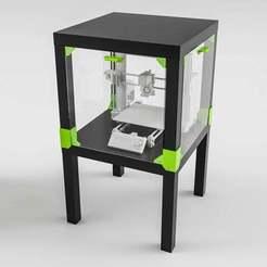 untitled4.jpg Download free STL file Ikea Hack Lack Enclosure v1.0 • 3D print design, EugenioFructuoso