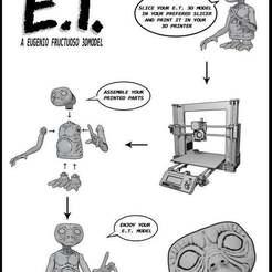 Télécharger fichier STL gratuit E.T. l'extraterrestre • Objet pour impression 3D, EugenioFructuoso
