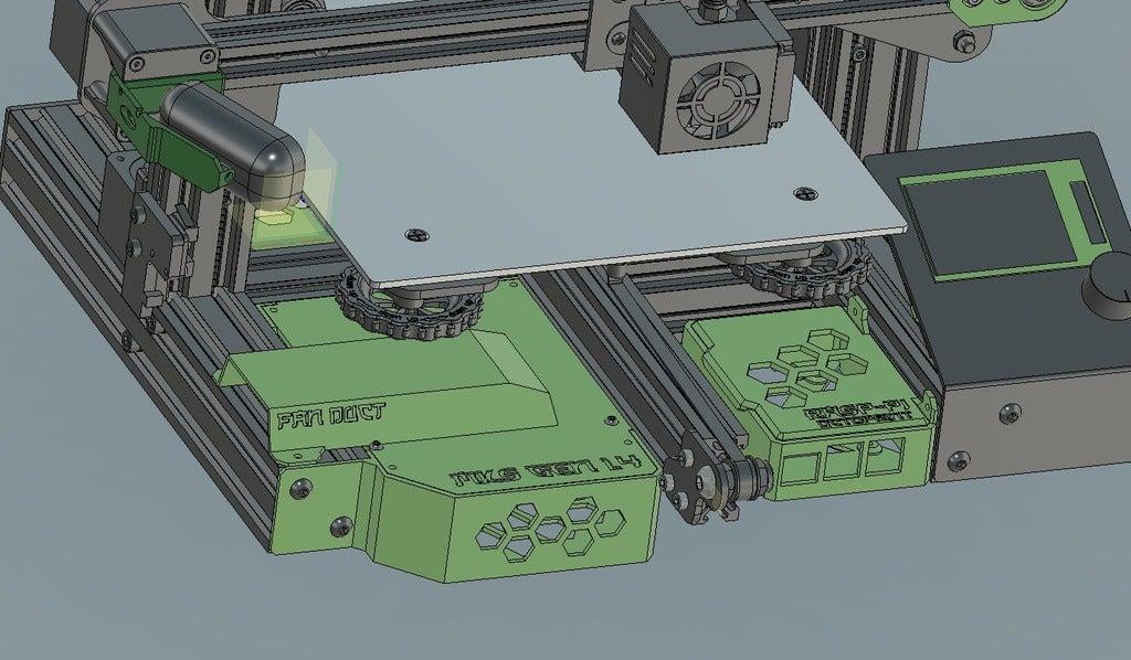 Captura2.PNG Télécharger fichier STL gratuit Boîte Pi3 à la framboise pour Vslot • Objet pour imprimante 3D, EugenioFructuoso