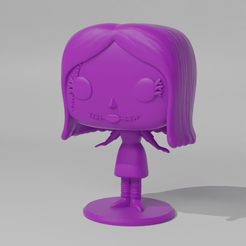 Sally1.png Download STL file Sally Pop • 3D printing template, Radiick