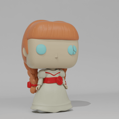 Anabelle2.png Download STL file Funko Pop - Annabelle • 3D printing object, Radiick