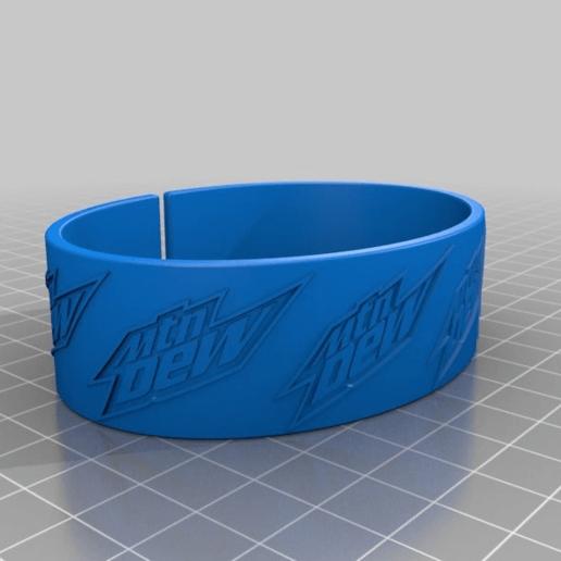 d5253e708669fb90e9989bec86679341.png Download free STL file dew bracelet • 3D printer design, hitchabout