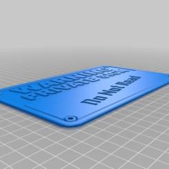 Télécharger fichier STL gratuit signer • Plan pour impression 3D, hitchabout
