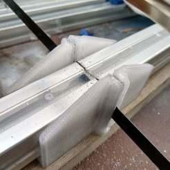 Télécharger modèle 3D gratuit 3030 Boîte à onglets en aluminium extrudé et montage du gabarit, hitchabout