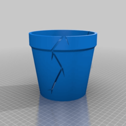82055706556172f776267c9c50d00a26.png Download free STL file Cracked Pots • Object to 3D print, hitchabout
