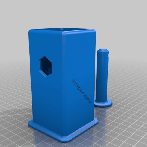 b432dc092bc1c46753c0596227b586a2.png Download free STL file 2 INCH hitch cover and fidget spinner • Model to 3D print, hitchabout