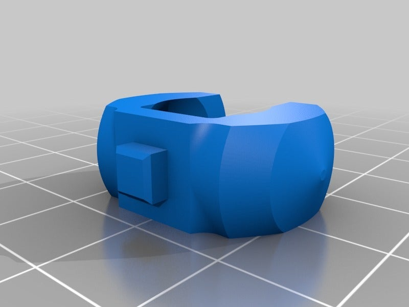71ee5014d962b15083054715d2633b45.png Download free STL file HeavyDuty Flexible KeyFob and Bracelet • 3D print object, hitchabout