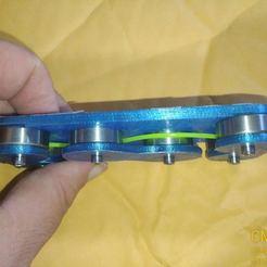 Télécharger plan imprimante 3D gatuit Redresseur de filaments IN-LINE, hitchabout