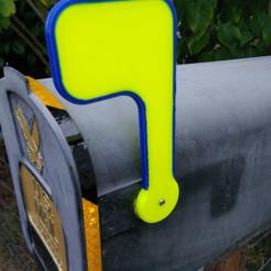 image.png Télécharger fichier STL gratuit indicateur de boîte aux lettres • Objet pour imprimante 3D, hitchabout